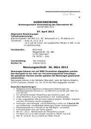Ausschreibung - Otterndorfer-reitclub.de