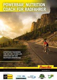 powerbar® nutrition coach für radfahrer