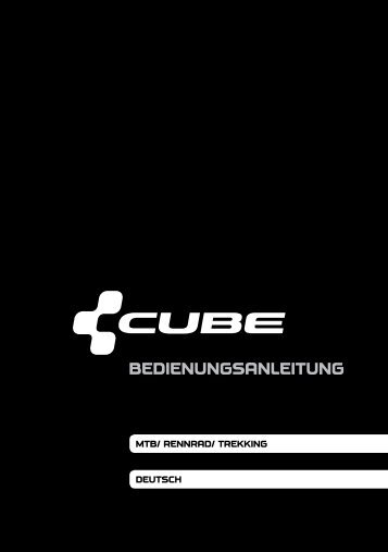 Bedienungsanleitung - Cube