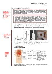 Bildgebung beim akuten Abdomen - Medizinische Universität Wien