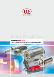 Katalog thermoMETER (PDF, 5.19 MB) - Micro-Epsilon Messtechnik ...