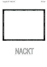 NACKT Ausgabe#2, März 2006 - Schwalmgymnasium Treysa