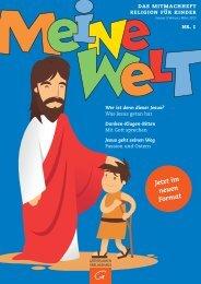 Wer ist dieser Jesus? - Fachzeitschriften Religion und Theologie