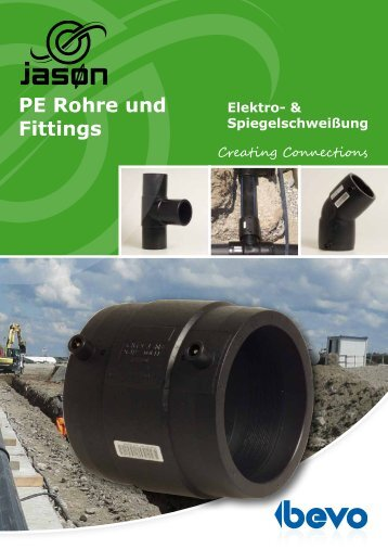 PE Rohre und Fittings - Bevo