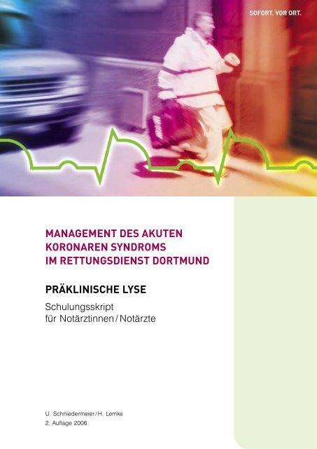 Zweite Auflage Des Schulungsskripts Notarzt Dortmund