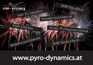 F2 Produkte VK Einzelhandel 2012 - Pyro - Dynamics