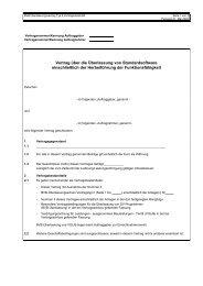 Vertrag über die Überlassung von Standardsoftware einschließlich ...