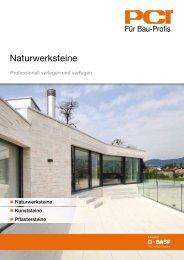 Naturwerksteine - Pci-Augsburg Gmbh