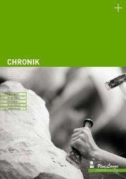 CHRONIK - Steinbildhauerei Uwe Lange