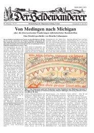 Von Medingen nach Michigan - Staff Homepages - - Newcastle ...