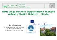 Neue Wege der Her2-zielgerichteten Therapie Aphinity-Studie ...