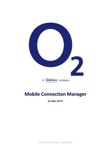 Mobile Connection Manager
