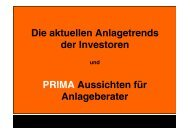 PRIMA – Zukunft - FONDS professionell