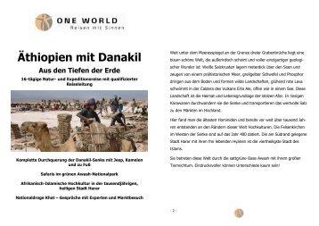 Kopie von ETD 2012 - Detailinfos - ONE WORLD Reisen mit Sinnen