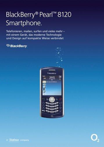 BlackBerry® Pearl™ 8120 Smartphone.