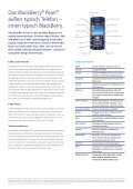 BlackBerry® Pearl™ 8120 Smartphone. - Seite 2
