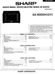 SX-8000H Service-Manual GB DE FR