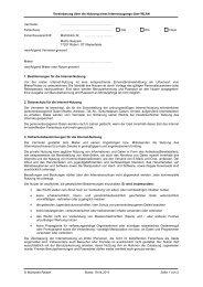 Vereinbarung über die Nutzung eines ... - Müritzsee Reisen