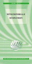MITOCHONDRIALE MYOPATHIEN