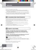 Návod na použití výrobku Vysoušeč vlasů Compact 2000 W s ... - Page 4