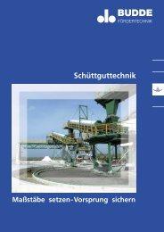 Schüttguttechnik - Budde Fördertechnik GmbH