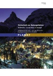 PLANAT Tätigkeitsbericht 01-03 (deutsch)