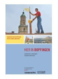 Hier in Bopfingen - Schwäbische Post
