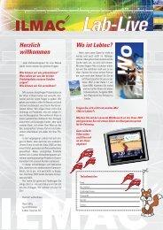 LabLive 1/07 - Labtec Services AG