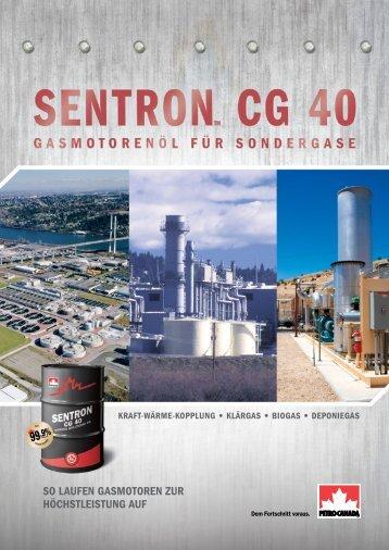 Produktbroschuere Petro-Canada Sentron CG 40 - Liquon ...