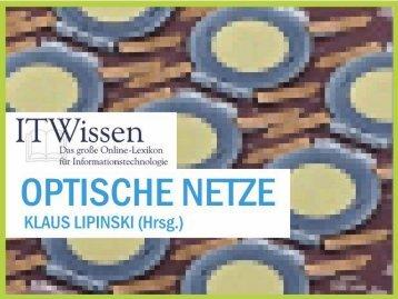 OPTISCHE NETZE ITWissen.info 1