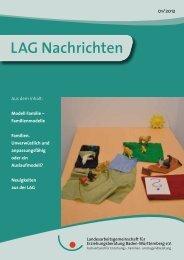 LAG Nachrichten 01/2012 - Landesarbeitsgemeinschaft für ...
