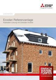 ecodan referenzanlage - Mitsubishi Electric