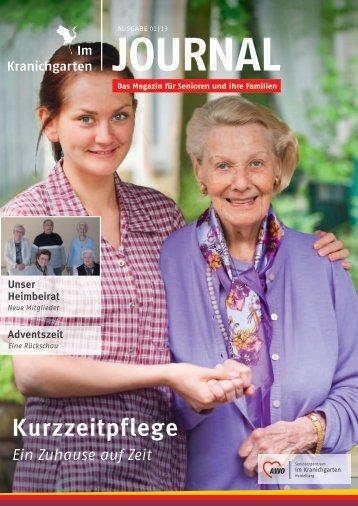 Kurzzeitpflege - AWO-Seniorenzentrum Im Kranichgarten