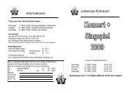 Link Programm Konzert und Theater 2009 - Jodlerklub Rohrbach