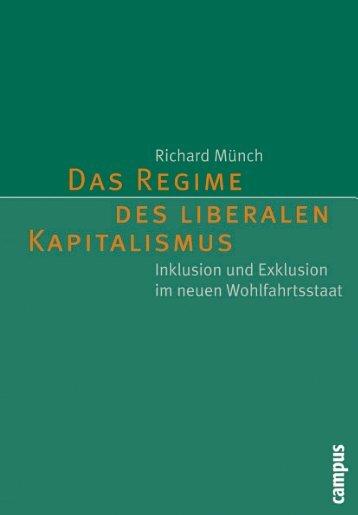 Das Regime des liberalen Kapitalismus - Die Onleihe