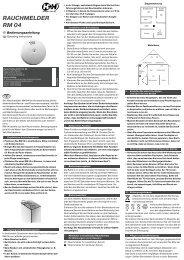 RAUCHMELDER RM 04 - Hartig + Helling GmbH & Co. KG