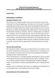 Information und Recht - Die Advokatur Sury