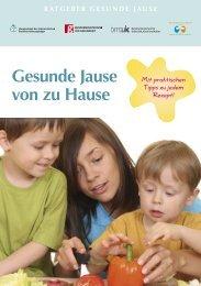 Gesunde Jause von zu Hause [deutsch] - Hauptverband