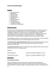 Unsere Dienstleistungen - MDW-Moldova