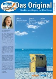 FRANZ KLEINE: Hochsaison für den Cleanliner WALTERWERK KIEL
