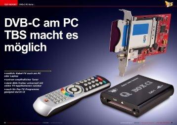 Kabel-TV auch am PC oder Laptop • extrem empfindlicher Tuner ...