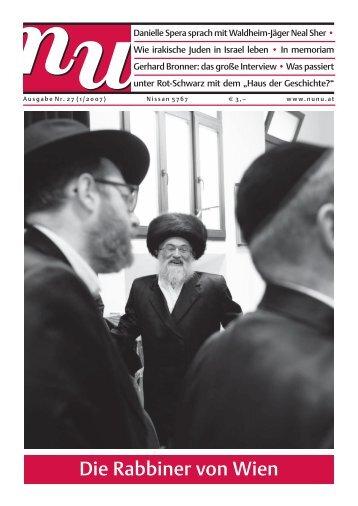 Die Rabbiner von Wien - Nu