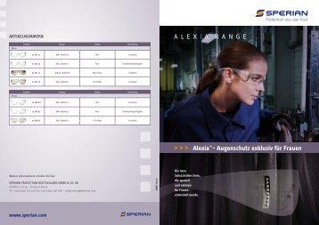 Hersteller-Info Alexia Schutzbrillen