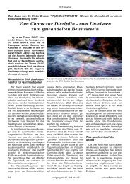 NET Journal Vom Chaos zur Disziplin - Novertis