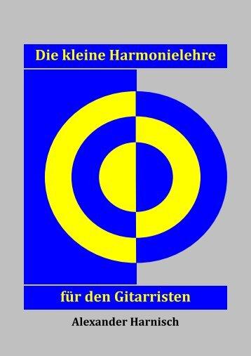 Die kleine Harmonielehre für den Gitarristen - Gitarrenunterricht ...