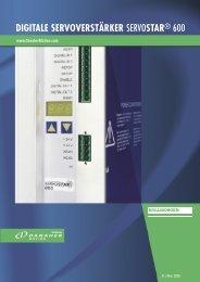 digitale servoverstärker servostar® 600 - Dynamic Drives