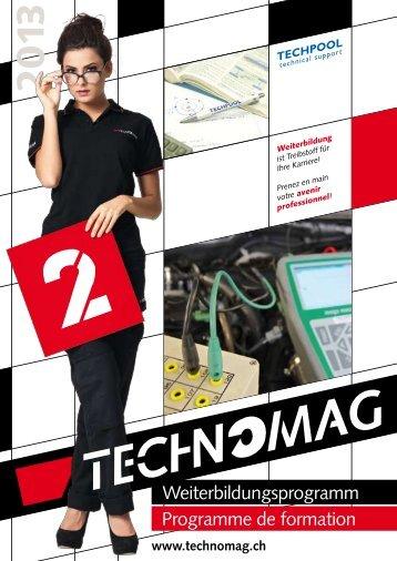 Broschüre Weiterbildung 2013