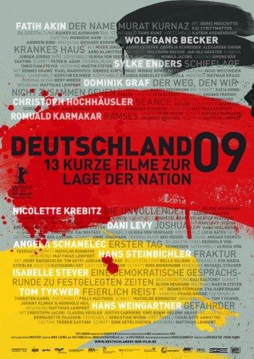 Das offizielle Presseheft downloaden (PDF) - Deutschland 09