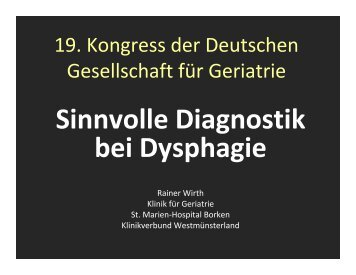 7 Diagnostik Dysphagie WIRTH 1 - NutriNews