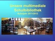 Rückblick Bibliothek 2011/12